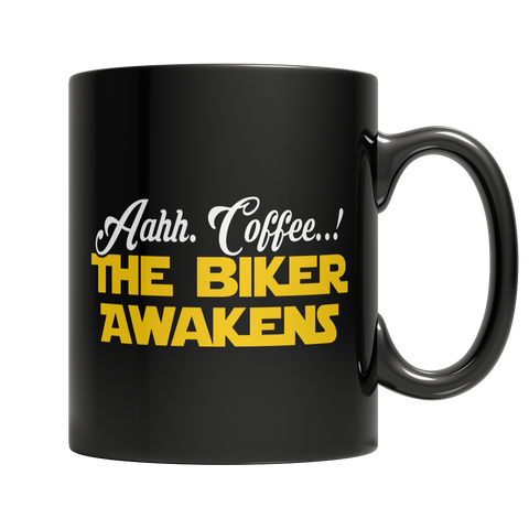 Limited Edition - Aahh Coffee..! The Biker Awakens