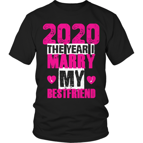 Limited Edition - 2020 marry best friend (pink / black)