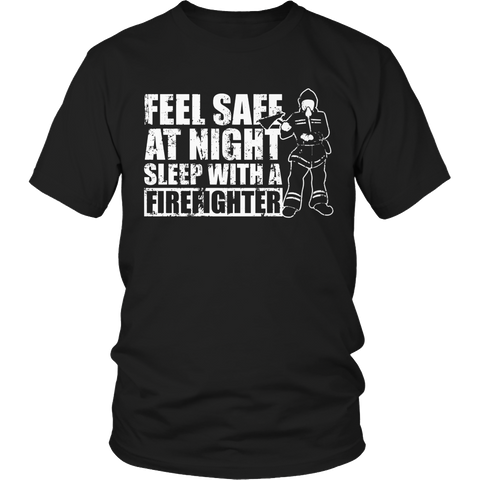Limited Edition - Feel safe at night sleep with a Firefighter