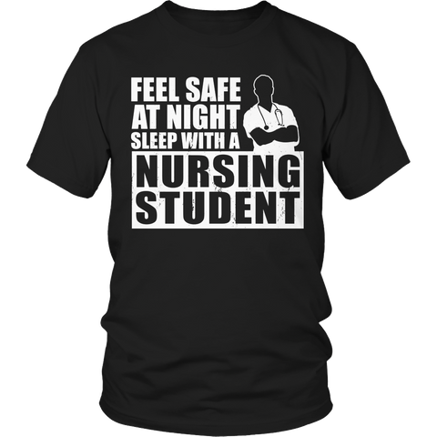 Limited Edition - Feel safe at night sleep with a Nursing Student (male)