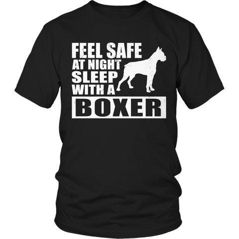 Limited Edition - Feel safe at night sleep with a boxer (dog)