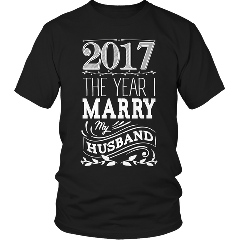 Limited Edition - 2017 The Year I Marry My Husband