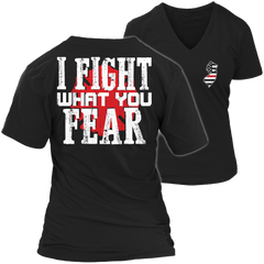 Limited Edition Firefighters - I fight what you fear New Jersey Brotherhood