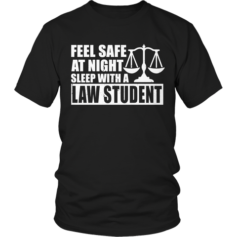 Limited Edition - Feel safe at night sleep with a Law Student