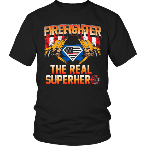 Limited Edition - Firefighter The Real Superhero
