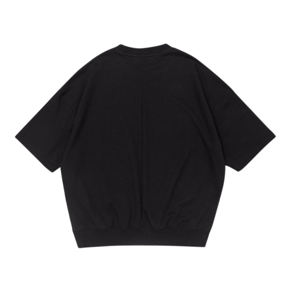 'Leonardo' Sweatshirt In Jet Black