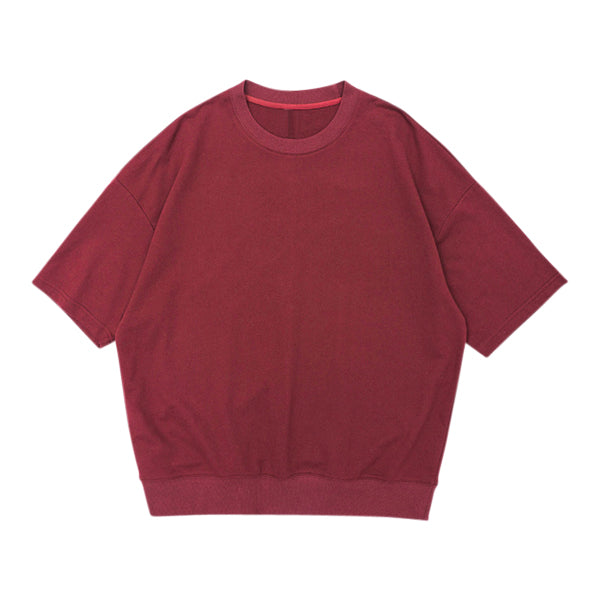 'Leonardo' Sweatshirt In Oxblood
