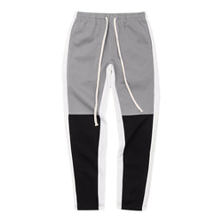 'Racer' track pants in grey