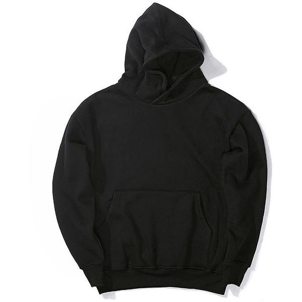 The 'Cosy' Hoodie In Jet Black