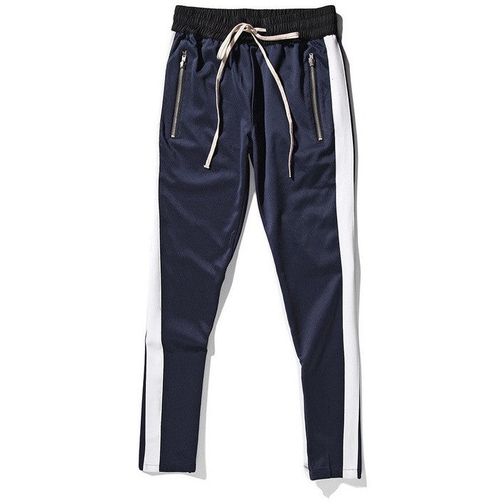 Drawstring Jogger Pants In Navy