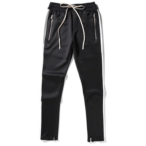 Drawstring Jogger Pants In Black
