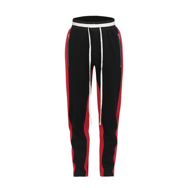 Drawstring Track Pants In Black