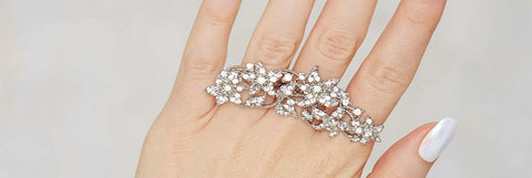 Women Multifinger ring