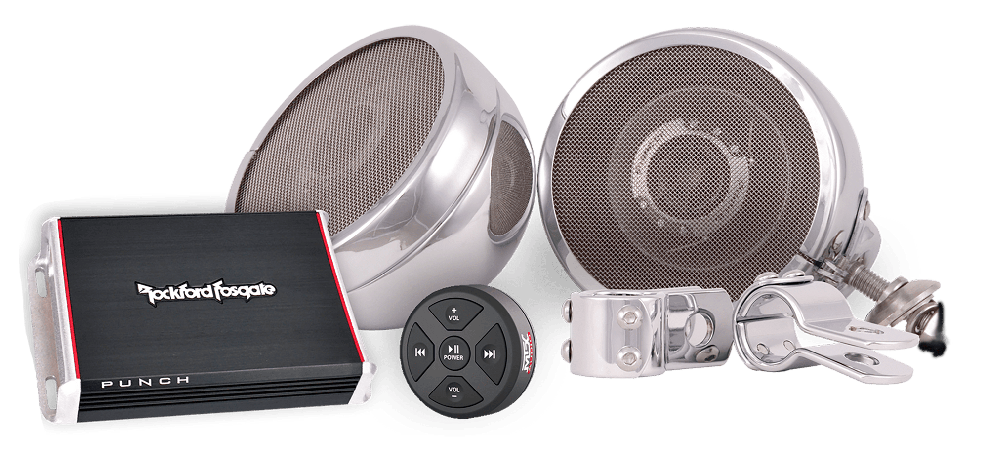 Steel Horse Audio ST600 Platinum Motorcycle Speaker System