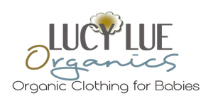 Modern organic baby clothes by Lucy Lue Organics. Made in the softest organic cotton. Your favorite baby brand for cute baby clothes. Organic baby clothes. Shop baby gowns, hats, and swaddle blankets.
