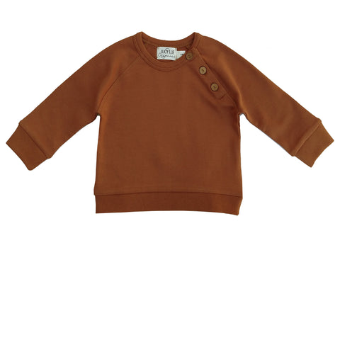 Organic pullover shirt. Baby boy pullover. Long Sleeve baby boy winter top. Lucy Lue Organics. Gender neutral baby clothes