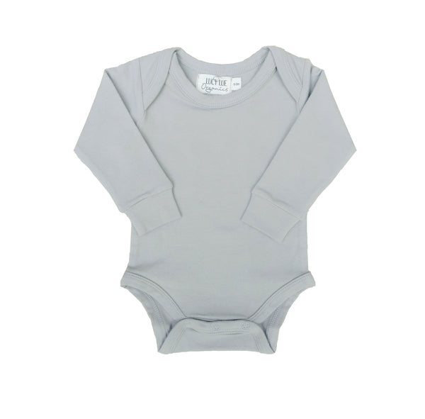 Lucy Lue Organics baby bodysuits. Organic newborn clothes. Baby clothing. Gender neutral newborn clothes