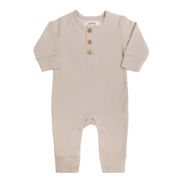 organic coverall | toasted almond