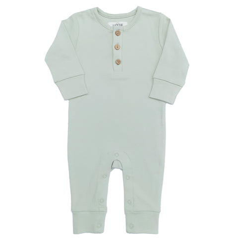 organic Long Sleeve Romper by Lucy Lue Organics. The best clothing brand for organic baby clothes. Affordable organic baby clothes. Premium baby clothes. Stylish baby clothes. Baby essentials. Certified organic cotton baby clothes. The softest baby clothes. Cute and stylish modern baby clothes. organic baby boutique. ethical baby clothes. eco-friendly baby brand