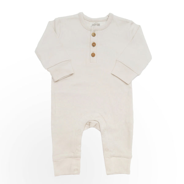 organic coverall | oatmeal (only 3/6m, 12/18m, and 18/24m left)
