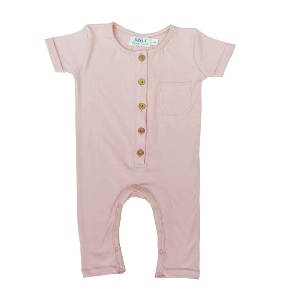 Baby romper coverall by Lucy Lue Organics. Organic baby clothes, organic toddler clothes, organic cotton, organic baby, eco friendly clothing, fair trade clothing, baby clothes, modern organic baby clothes, baby boy clothes, baby girl clothes, unisex baby clothes. Summer baby styles.