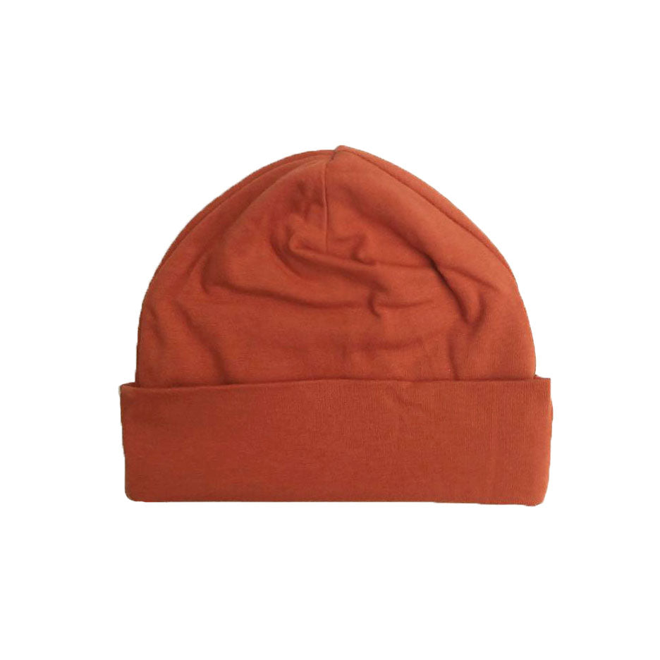 organic baby hat | jersey stretch | seasonal colors (size 3-6m only)