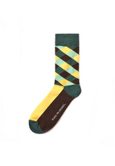 Rad Russel Men Patterned Socks-03701