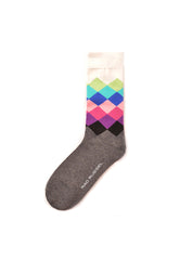 Rad Russel Men Patterned Socks-03802