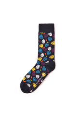 Rad Russel Men Patterned Socks-13204