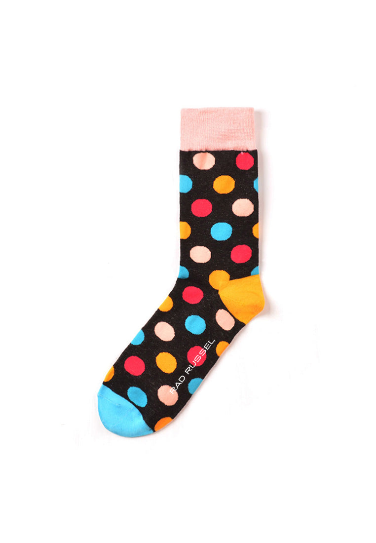Rad Russel Men Patterned Socks-14901
