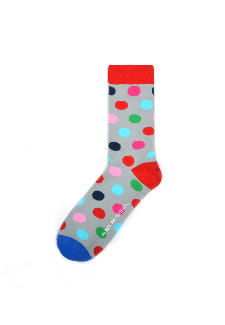 Rad Russel Men Patterned Socks-14908