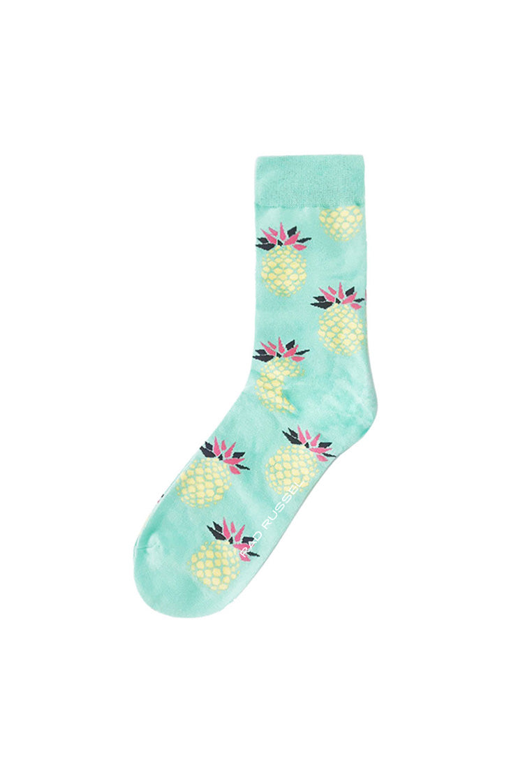 Rad Russel Men Patterned Socks-15003