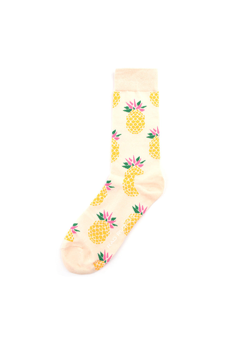 Rad Russel Men Patterned Socks-15005
