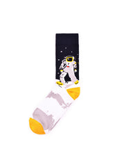 Rad Russel Men Patterned Socks-15504