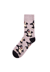 Rad Russel Men Patterned Socks-15511