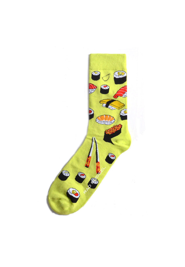 Rad Russel Men Patterned Socks-15706