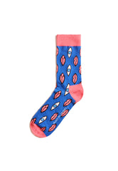 Rad Russel Men Patterned Socks-15801