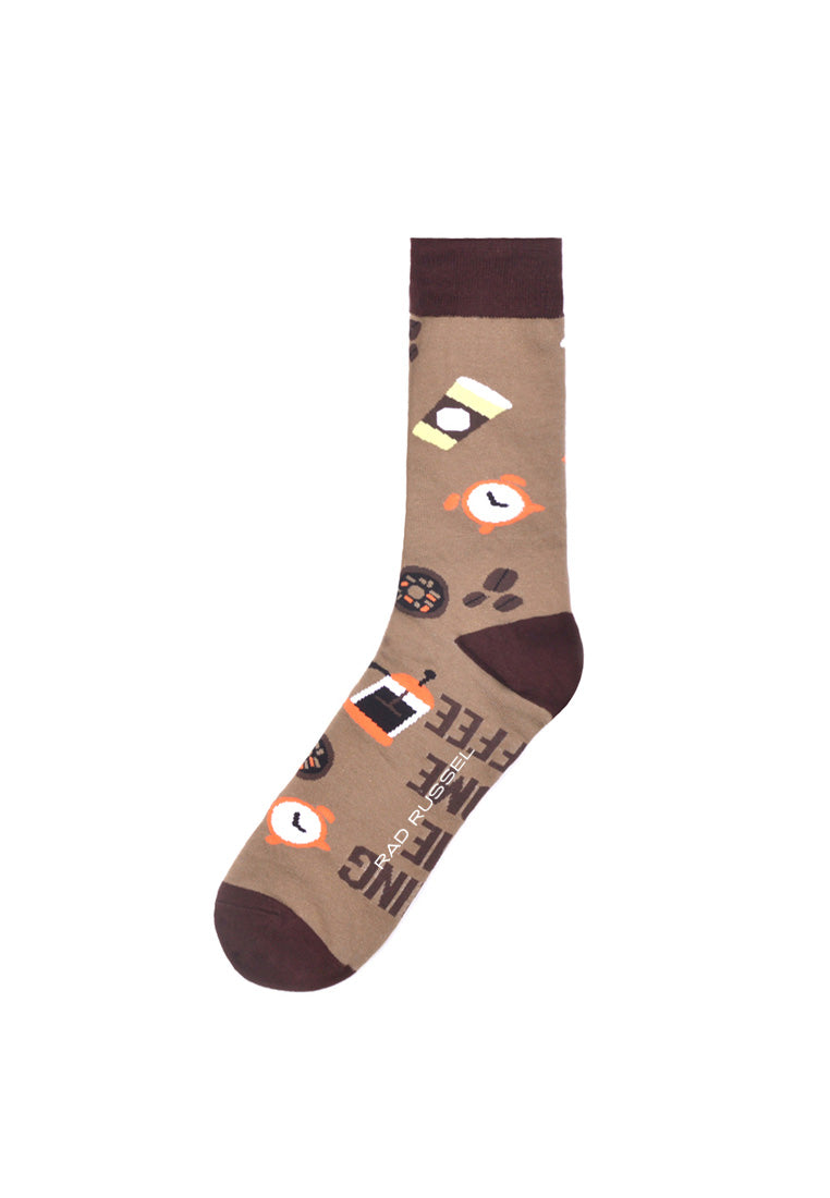 Rad Russel Men Patterned Socks- 16593