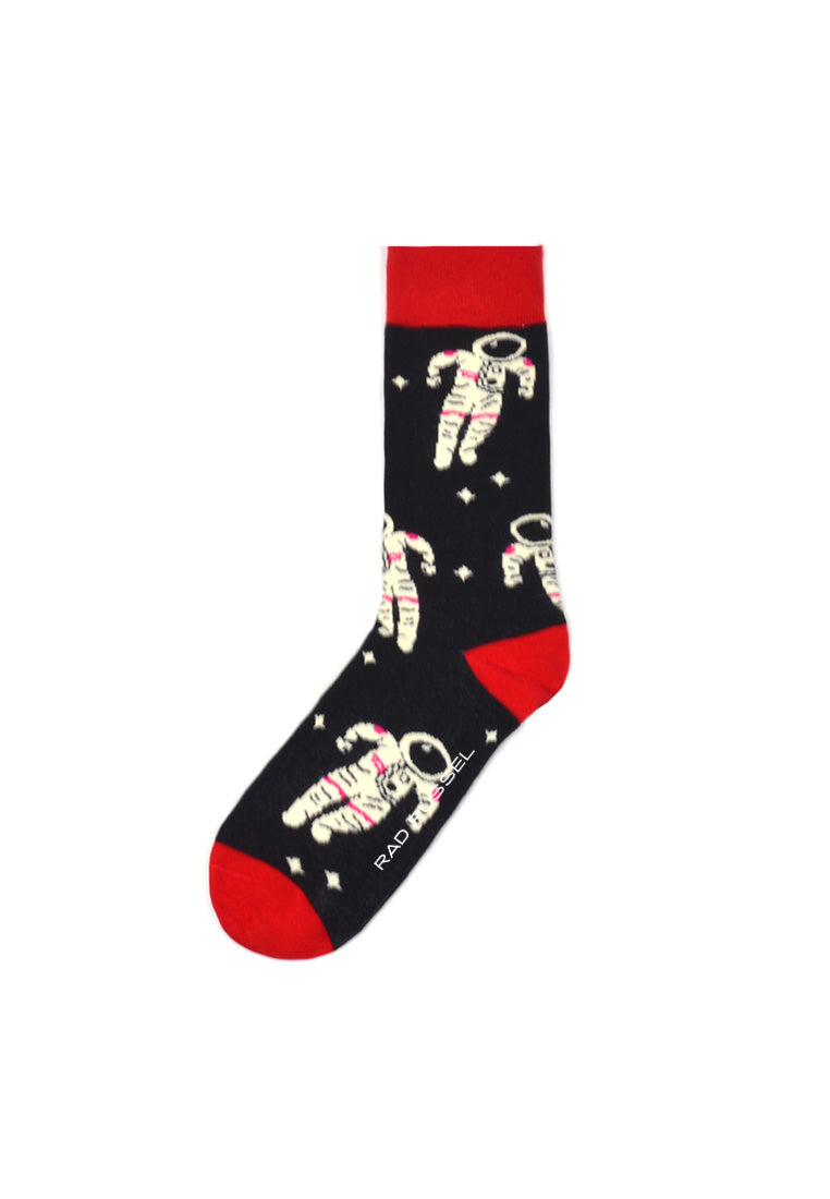 Rad Russel Men Patterned Socks- 40192