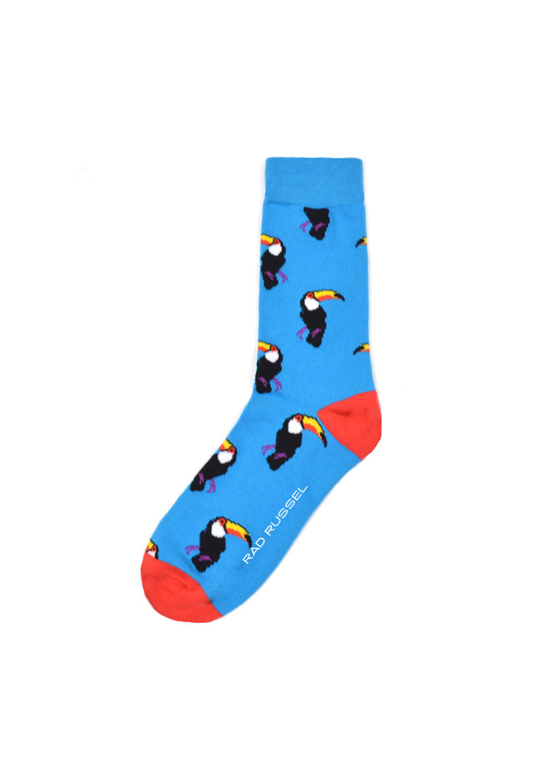 Rad Russel Men Patterned Socks- 40194