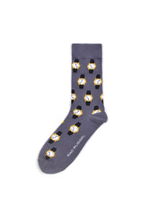 Rad Russel Men Patterned Socks- 40264