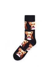 Rad Russel Men Patterned Socks- 40265