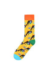Rad Russel Men Patterned Socks- 40280