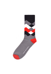 Rad Russel Men Patterned Socks- 40393