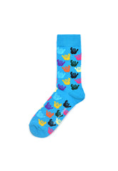 Rad Russel Men Patterned Socks- 40394