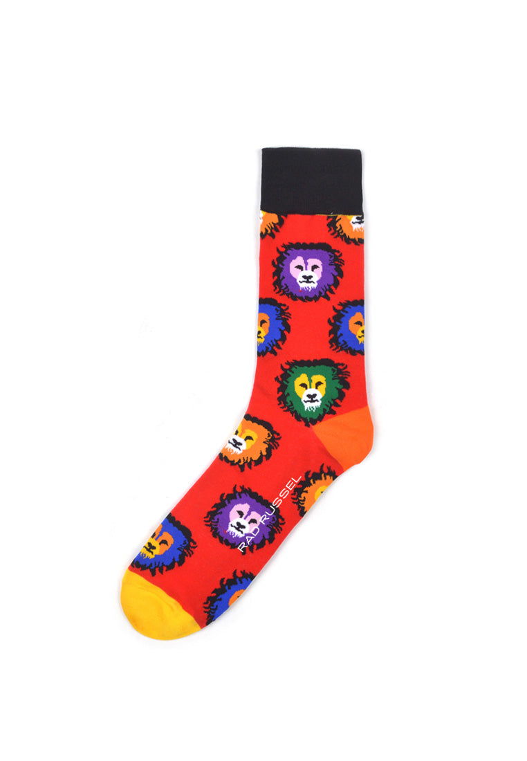 Rad Russel Men Patterned Socks- 40406