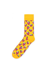 Rad Russel Men Patterned Socks- 40407