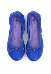 Soft Ribbon Flats - Blue