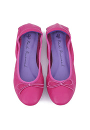 Soft Ribbon Flats - Pink