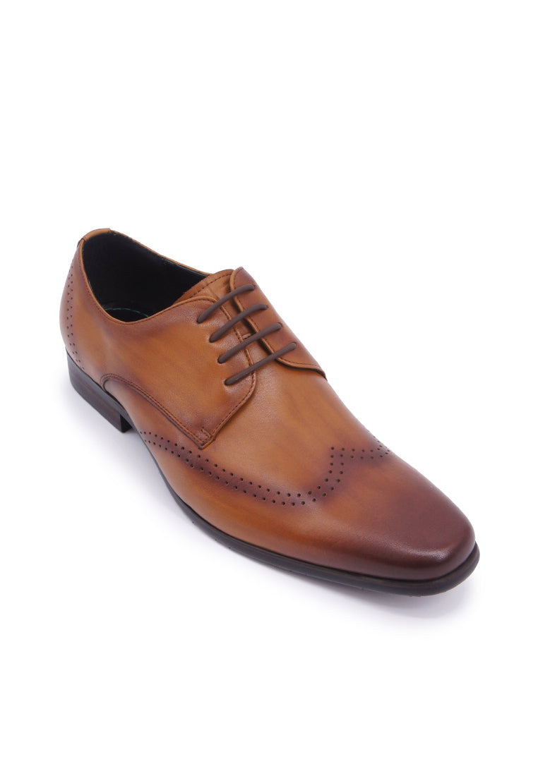 Hanson Bootmaker Lace-up Derby - Tan